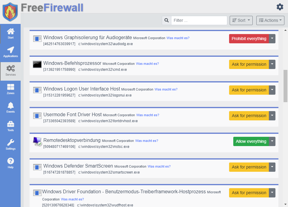 free firewall software for windows 7